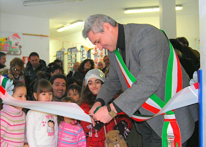 """#ChiesinaUzzanese, inaugurazione Scuola Materna """"Madre Teresa di Calcutta""""."""
