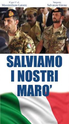 Il Comune di #ChiesinaUzzanese chiede il rilascio dei Marò.